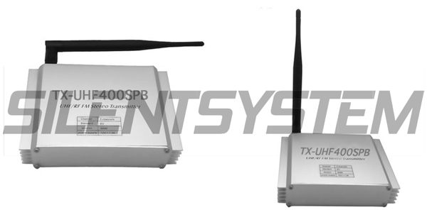 Transmisor Silent Disco TX-SPB40UHF-500