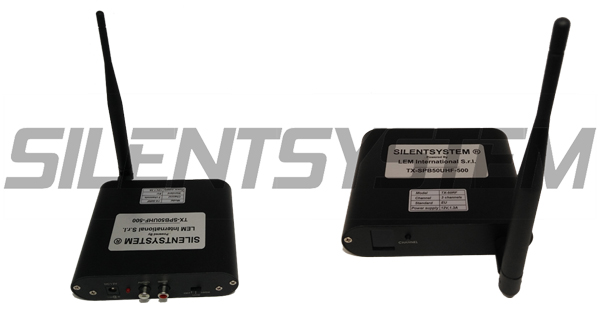 Transmisor Silent Disco TX-SPB50UHF-500