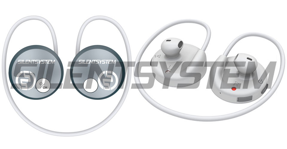 Auriculares Silent Fitness SX707